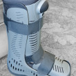 Stock Photo: Compression boot or soft cast footwear