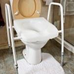 Adjustable height toilet seat — Stock Photo #26491809