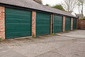 Self storage garages — Stock Photo