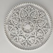 Plaster Ceiling Rose or plate — Stock Photo #26883549