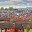 Terraced roof tops — Stock Photo