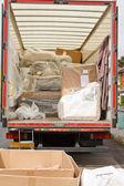 Removals van or truck — Stock Photo