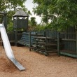 Childrens adventure play park — Stock Photo