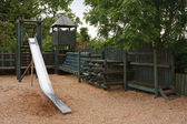 Childrens adventure play park — Stock Photo