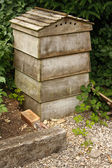 Tradition stacking beehive — Stockfoto
