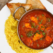 Chicken jalfrezi balti dish — Stock Photo