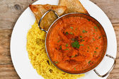 Chicken tikka masala balti dish — Stock Photo