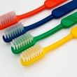 Selection of Toothbrushes — Stock Photo