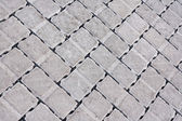 Brick paving background — Stock Photo