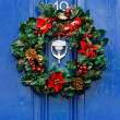 Stock Photo: Festive Christmas wreath