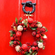 Festive Christmas wreath — Stock Photo #31280639