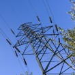 Electricity transmission tower — Stock Photo