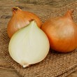 Common bulb onions — Foto de Stock