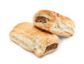 Isolated sausage rolls — Stock Photo