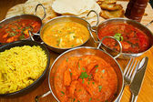 Buffet de cocina India — Foto de Stock