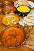 Indian cuisine selection — Stock Photo