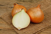 Common bulb onions — Stock Photo