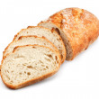 Traditional unsliced bread loaf — Stock Photo #31964055