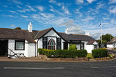 Old Blacksmiths Shop Gretna Green — Stock Photo