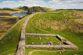 Milecastle 39 on Hadrians Wall — Stock Photo