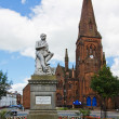 Stock Photo: Robert Burns Statue Dumfries
