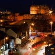 Stock Photo: Carlisle Castle at dusk