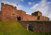 Carlisle Castle — Stock Photo
