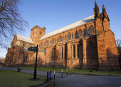 Carlisle Cathedral — Stock Photo