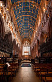 Carlisle Cathedral interior — Stock Photo