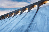 Clatteringshaws dam — Stock Photo