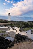 Southerness lighthouse — Stock Photo