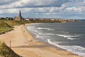 Spiaggia di sabbia lunga sud — Foto Stock