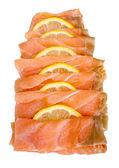 Fatias de salmão fumadas — Foto Stock