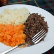 Stock Photo: Burns supper