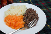Burns supper — Stock Photo