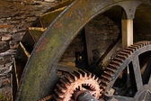 Water Mill Wheel workings — Stock Photo