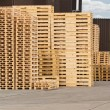 Wooden Pallet stack — Stock Photo #45124537