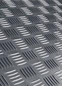 Non skid metal flooring — Foto de Stock