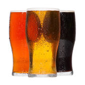 Pints of beer — Stock Photo