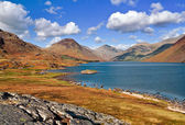 Wastwater sunny day — Stock Photo