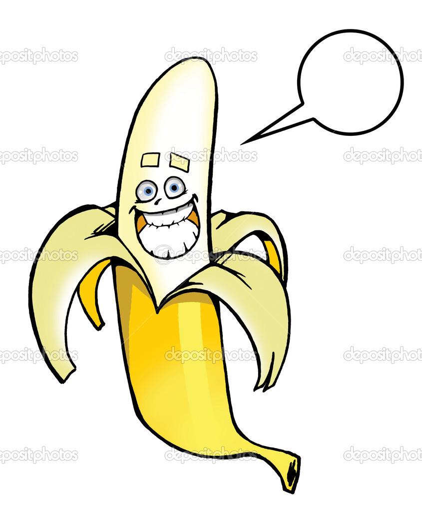 快乐卡通香蕉