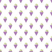 Grapes Seamless Pattern — Stock Vector
