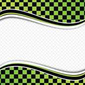 Checkered background (racing background). — Stock vektor