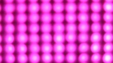Flashing pink lights — Stock Video