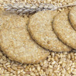 Stockfoto: Cookies from whole grain wheat