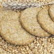 Stock Photo: Cookies from whole grain wheat