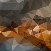 Mozaiki geometrycznej trójkątny tło — Wektor stockowy
