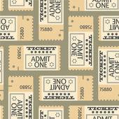 Modèle sans couture de billets, texture abstraite, vector art illustration — Vecteur