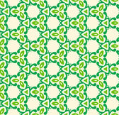 Green abstract seamless pattern — Stock Vector