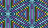 Geometrico transparente. — Vector de stock